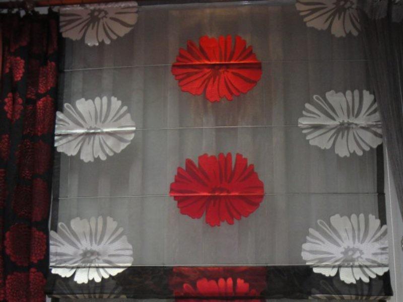 firany w kwiaty warszawa